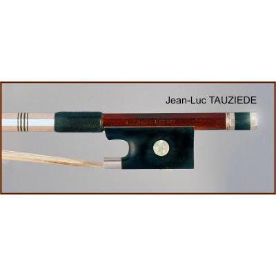 Jean-Luc Tauziedé silver mounted viola bow