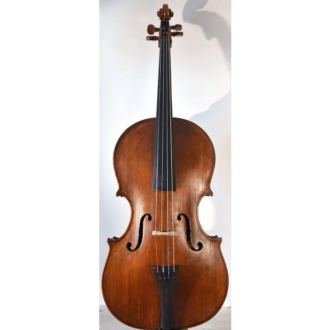 Italian contra cello, cello da spalla