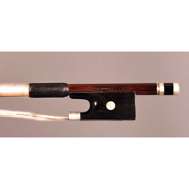 French violin bow by Marc Laberte -  Gand & Bernardel - Raffin certified