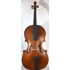 Old Italian cello da spalla, shoulder cello, contra-violin