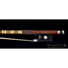 Dominique Pécazin violin bow - gold. wire