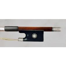 Prosper Colas silver mounted violin bow