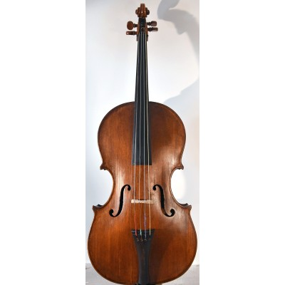 Old Italian cello da spalla, shoulder cello, contra-violin