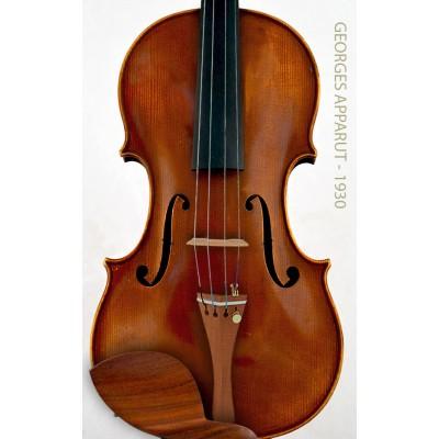 Georges Apparut  フランス語バイオリン
