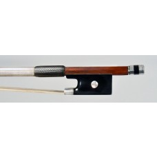 Cuniot-Hury silver mounted violin bow