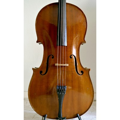 German Saxony cello c. 1900