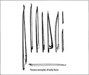 history of the violin bow